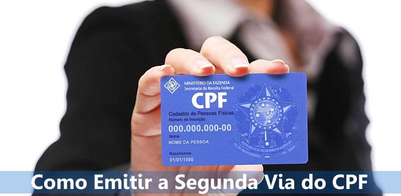 Segunda Via do CPF