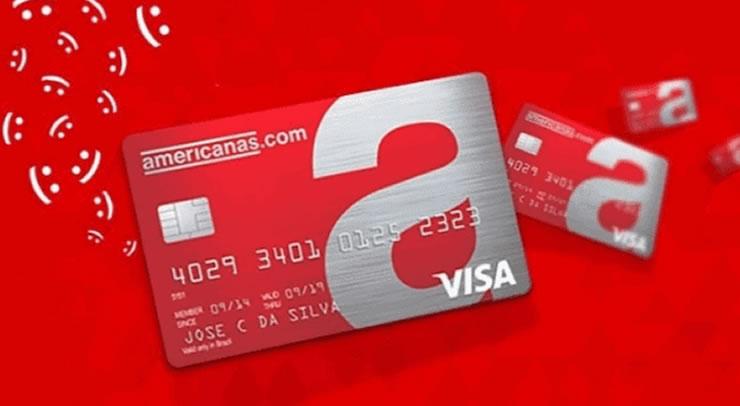 fatura cartão Americanas